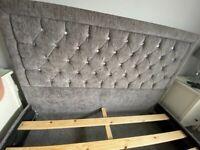 Kingsize bed & luxury mattress