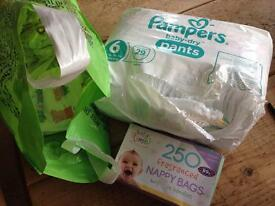 Pampers Pull up Nappies size 6