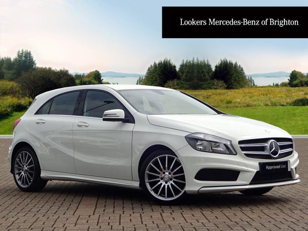 mercedes benz a class a180 cdi blueefficiency amg sport white 2014 04 11 in portslade east. Black Bedroom Furniture Sets. Home Design Ideas