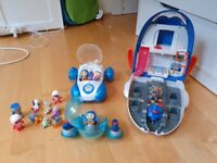 Big Go Jetters Bundle Playsets Jet Pad Vroomster Go-Roll Figures Toys