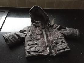 Excellent condition Babies 0-3 months warm coat.