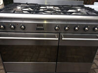 SMEG PROFESSIONAL RANGE COOKER 90 CM INOX LOOK...FREE DELIVERY