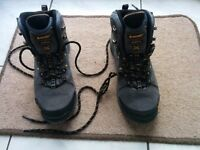 Women's Walking or Hiking Boots size 7 (for size 6)- used twice