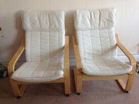 2 Armchairs Ikea