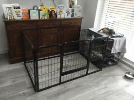 Dog/ animal pen 1200 x 800mm very sturdy