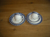 Royal Stafford 1 tea cup,1 saucer, 1 side plate at £2.50 (sugar, cream, serving plates available)