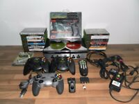 Retro Gamer Package - XBox plus 24 Games, Controllers and Accessories