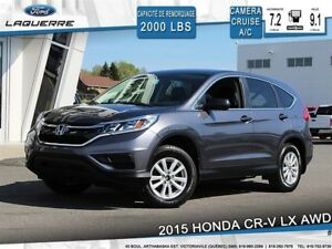 2015 Honda CR-V LX**AWD*BLUETOOTH*CAMERA*A/C*CRUISE**