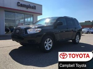 2008 Toyota Highlander V6 AWD LOCAL TRADE ONE OWNER 5 PASS