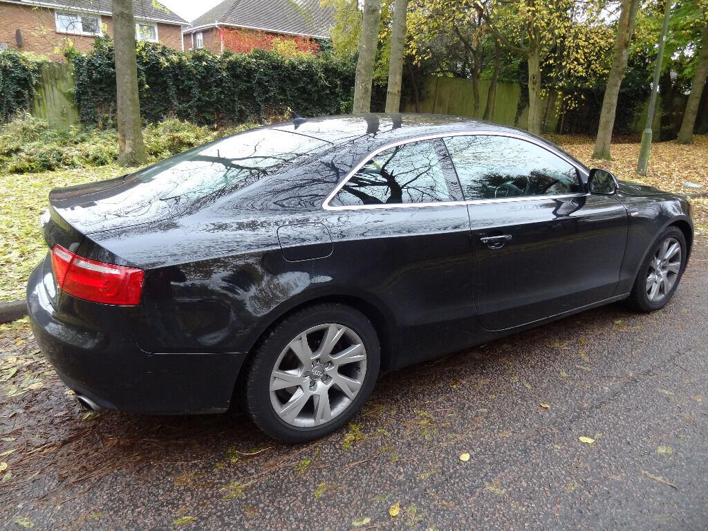 Audi a5 coupe s line 3 0l tdi 242 bhp diesel quattro fsh - Audi a5 coupe 3 0 tdi quattro s line special edition ...