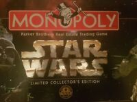 Limited Collector's Edition Star Wars Monopoly 20 years 1977-1997