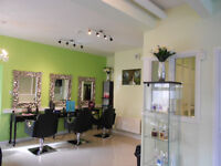 Half beauty salon with nail, pedicure, massage room and 2 sunbeds for sale