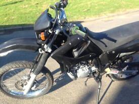 Yamaha dtr125 56 plate