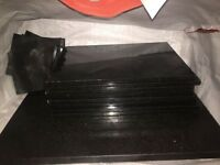 Black Granite Place Matts, Coasters and Chopping board