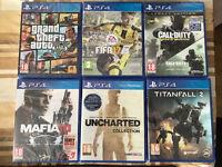 FIFA 17 - MAFIA 3 -TITANFALL 2 - BRAND NEW & SEALED PLAYSTATION 4 GAMES PS4