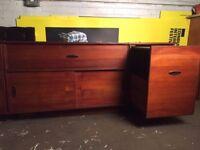 Vintage/retro teak sideboard/ tv stand /bar - project!
