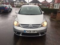 VW Golf Plus GT TDI , Manual, Diesel, 5 Doors ,MOT 25/05/2017 , Very Clean