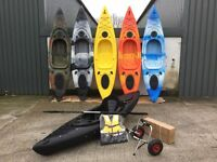 sit in fishing kayak from Cambridge kayaks