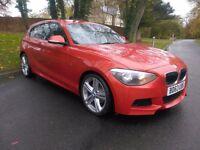 2013 BMW 118d M SPORT 3 DOOR, FULL SERVICE HISTORY, LOW MILEAGE