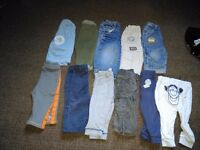 Big bundle of boys 9-12 month clothes
