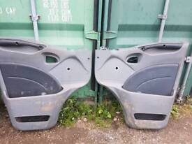 Iveco Daily door trims, Removed from 2008 Iveco Daily