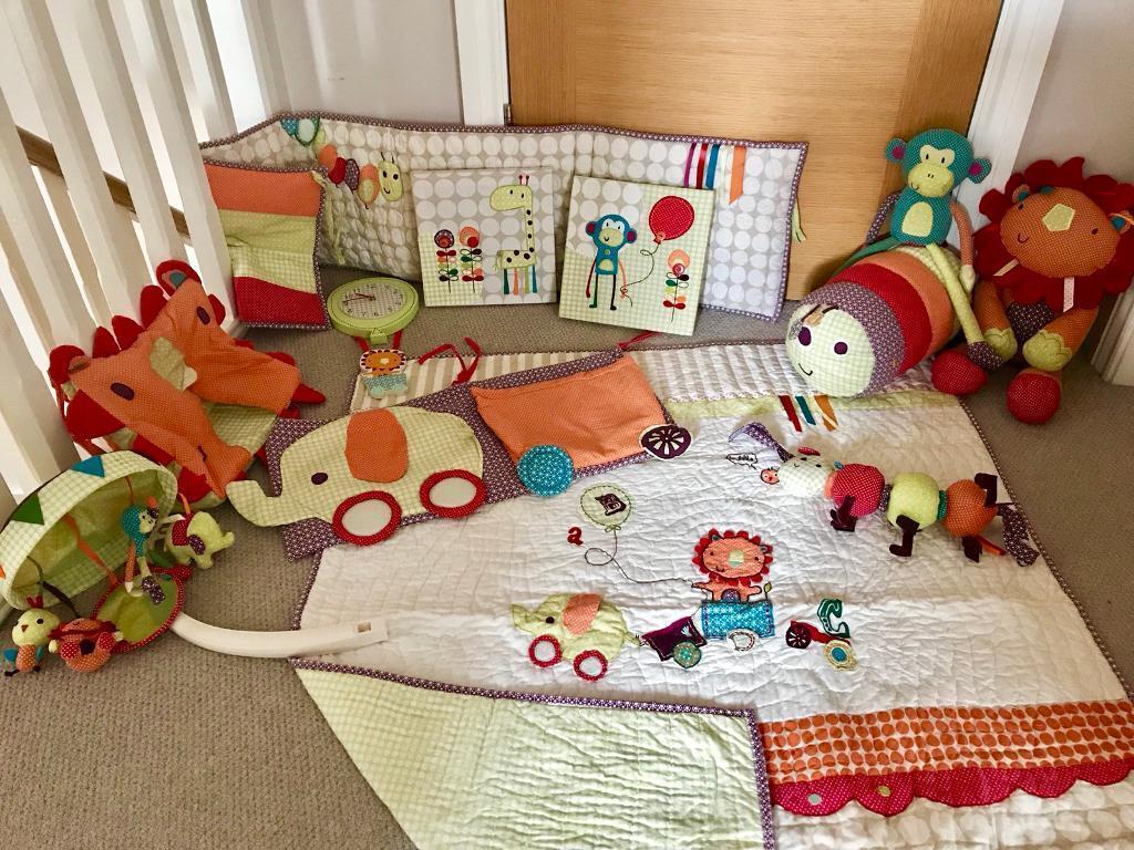 Mamas Papas Jamboree Coordinating Unisex Nursery Decorations Accessories