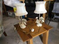 Laura Ashley bedside lamps