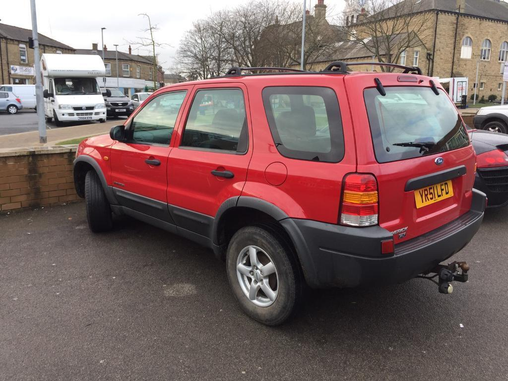 51 plate ford maverick 4x4 stunning car full history long mot 115k wow in wakefield west. Black Bedroom Furniture Sets. Home Design Ideas