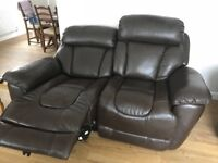 DFS Supreme power recliners. Armchair is manual.