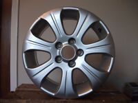 "Vauxhall 16"" alloy wheel 7 spoke came off Zafira 2006"