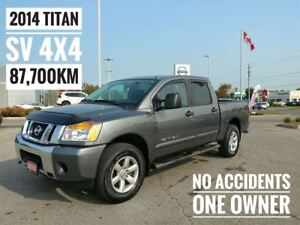 2014 Nissan Titan SV Crew Cab 4x4  FREE Delivery