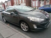 Peugeot 308 1.6 THP Hardtop Convertible Moted Cheap Tax insurance petrol Hpi clear