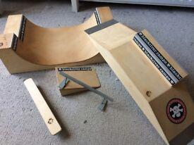 Blackriver Finger Board Ramp Bundle