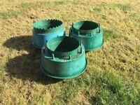 30 Garden/Greenhouse Growpots/Plant Halos
