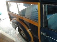 Morris Minor Traveller - Classic car project for restoration, tax exempt