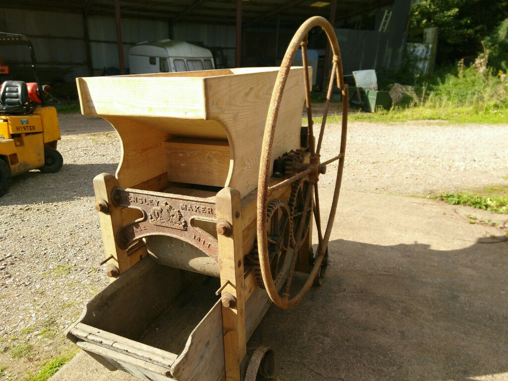 apple scratter wensley of mark cider mill crusher press restored