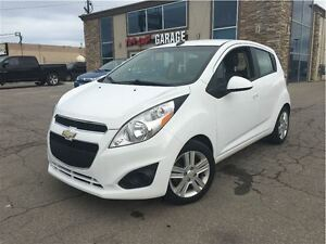 2013 Chevrolet Spark 1LT Manual LOW KMS!!!l CLOTH & LEATHER