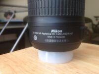 Nikon AF-s 18-55 Lens
