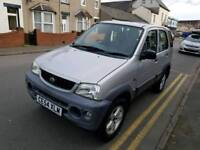 54 PLATE DAIHATSUI TERIOUS. 4X4. 11 MONTHS MOT. PX WELCOME
