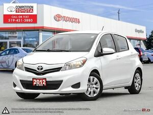 2012 Toyota Yaris LE One Owner