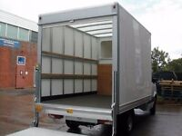 Man and Van Removals Full House Moves House Clearances Derby Derbyshire 2 Man Team Luton Tail Lift