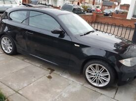 BMW 1 SERIES 2.0 120d M Sport 3dr Black 2008 Hatchback Electric Glass Sunroof