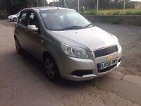 MORE CAR FOR YOUR MONEY 58 Chevrolet Aveo 1-2 5 dr, 1 Private elderly owner, Mot Sept 17 £995 P/Exs
