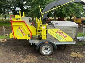 Garden waste removal/ wood chipper hire