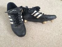 Football Boots, size 2, hardly used. Great for School sports.