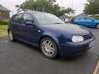 2001 51 REG VW GOLF 1.6 PETROL, 5 DOORS HATCHBACK, HPI CLEAR, FSH, GOOD CONDITION, A/C, CRUISE CNTRL