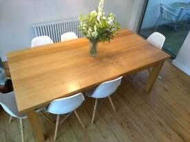 Kitchen table, solid oak