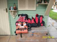 Buoyancy aids /life jackets