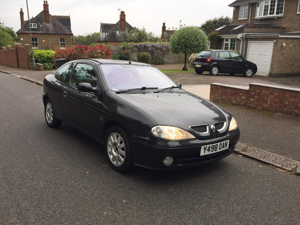 renault megane coupe 1 4 2001 black low mileage in barnet london gumtree. Black Bedroom Furniture Sets. Home Design Ideas