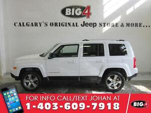 2016 Jeep Patriot High Altitude,Bluetooth,Leather,sunroof, 4x4